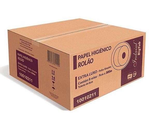 Papel Higiênico Indaial Big Tub - Caixa com 8 Rolão