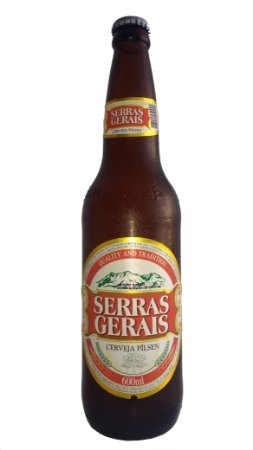 Cerveja Premium Serras Gerais - Garrafa 600 ml