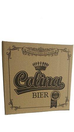 Cerveja Colina Bier Pilsen 600 ml  CX c/12