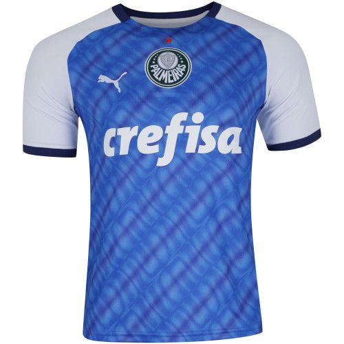 13e12e4348 Camisa Palmeiras III 2019 Azul s/n Puma Torcedor Edição Especial 1999  Masculina - Importada