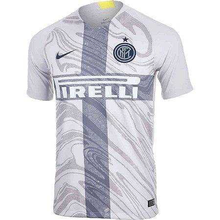 92cd80a228 Camisa Inter de Milão III 2018/19 Cinza s/n° - Torcedor Nike ...