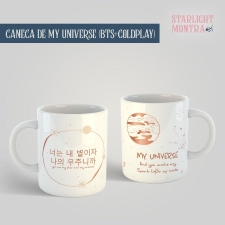 Caneca | My Universe (BTS+Coldplay)