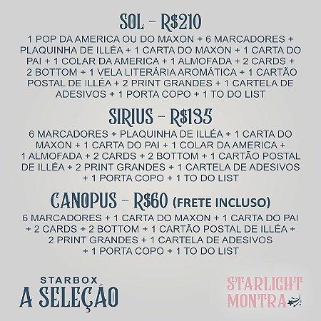 """STARBOX A SELEÇÃO - Canopus (Use cupom """"CANOPUS"""" para frete grátis)"""