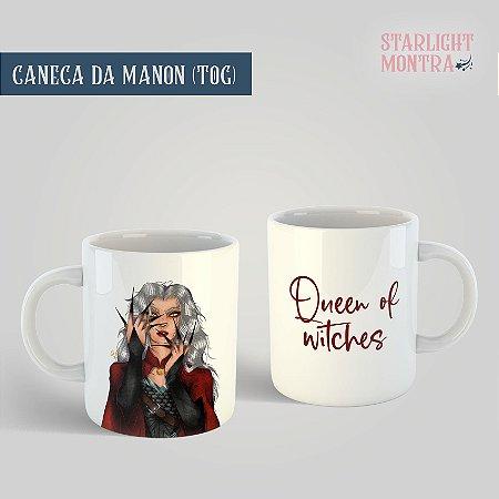 Caneca | Manon de Trono de Vidro (versão branca)