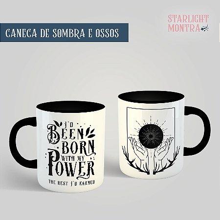 Caneca   Sombra e Ossos (Shadow and Bone)