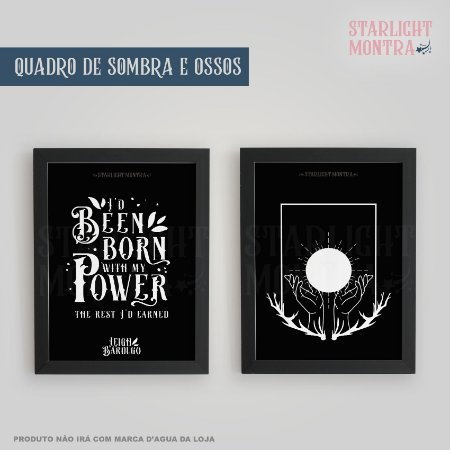 Quadro | Sombras e Ossos (Shadow and Bone)
