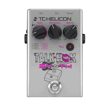PEDAL - TALKBOX SYNTH -TC HELICON