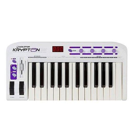 TECLADO CONTROLADOR MIDI WALDMAN REF. KRYPTON 25