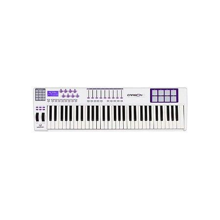 TECLADO CONTROLADOR MIDI WALDMAN REF. CARBON 61