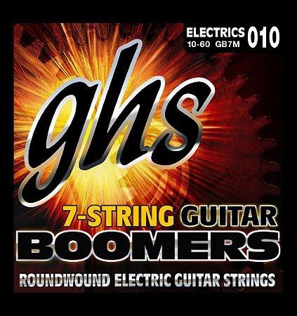 ENCORDOAMENTO GUITARRA 7 CORDAS GHS - GB7M 10 - 60
