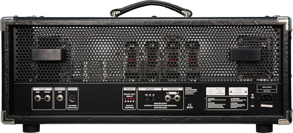 Cabecote Valvulado p/Guitarra 6262 INFINIUM 120W - Bugera