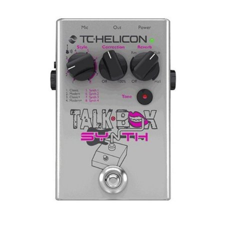 Pedal - TALKBOX SYNTH - TC Helicon