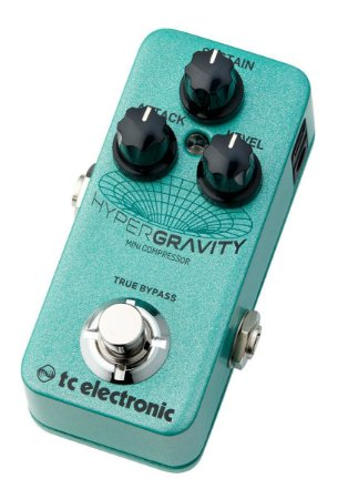 PEDAL - HYPERGRAVITY MINI COMPRESSOR - TC ELECTRONIC