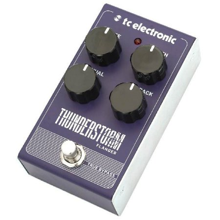 Pedal para Guitarra Thunderstorm Flanger - TC Electronic