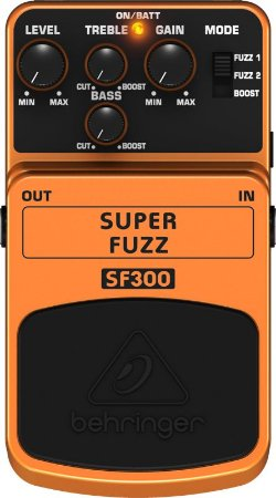 Pedal para guitarra - SF300 - Behringer