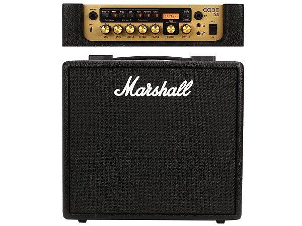 Amplificador Combo Para Guitarra Marshall Code 25