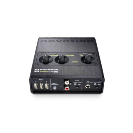 Interface de Audio USB HUB - AUDIOHUB 2X4 - NOVATION