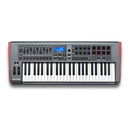 TECLADO CONTROLADOR USB/MIDI IMPULSE 61 - NOVATION