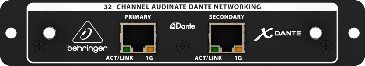 Interface dante para x32 - Behringer