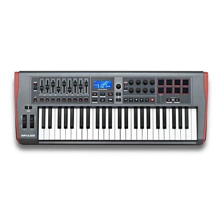 CONTROLADOR USB/MIDI IMPULSE 49 - NOVATION
