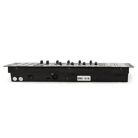 Controlador Dmx Bivolt - Dmx-1216 - Pls