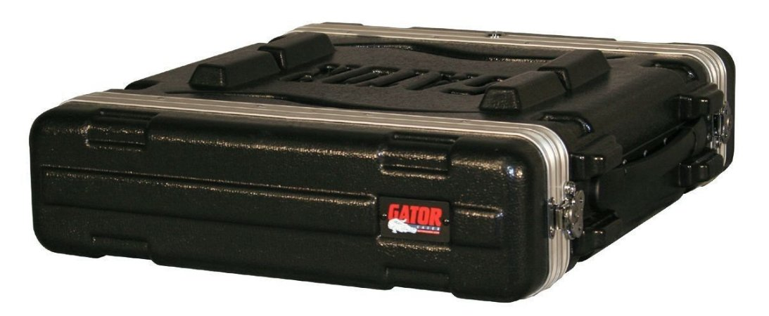 Case Rack Small 19 Polieti. Militar/2Un - GR-2S - GATOR