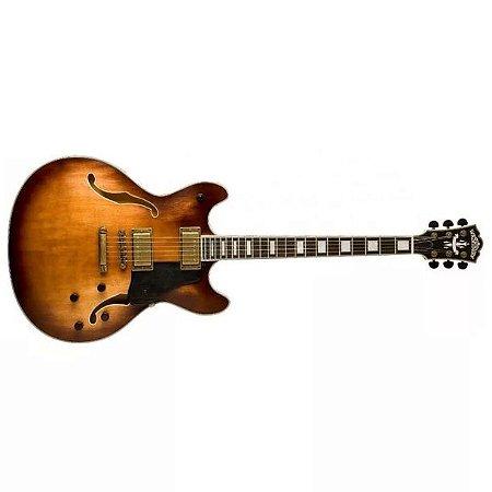 Guitarra semi acustica vintage sem case HB36 - Washburn