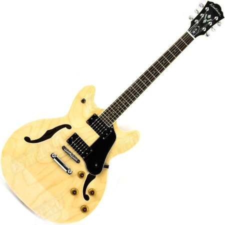 Guitarra semi acustica natural c/bag - HB30WR - WASHBURN