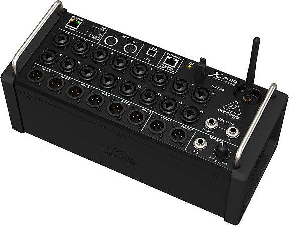 Mixer Digital Behringer X-air Xr18 - NFe 2 Anos de Garantia