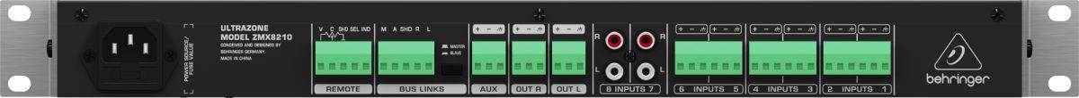 Mixer Xenyx Ultrazone - ZMX2600 - Behringer
