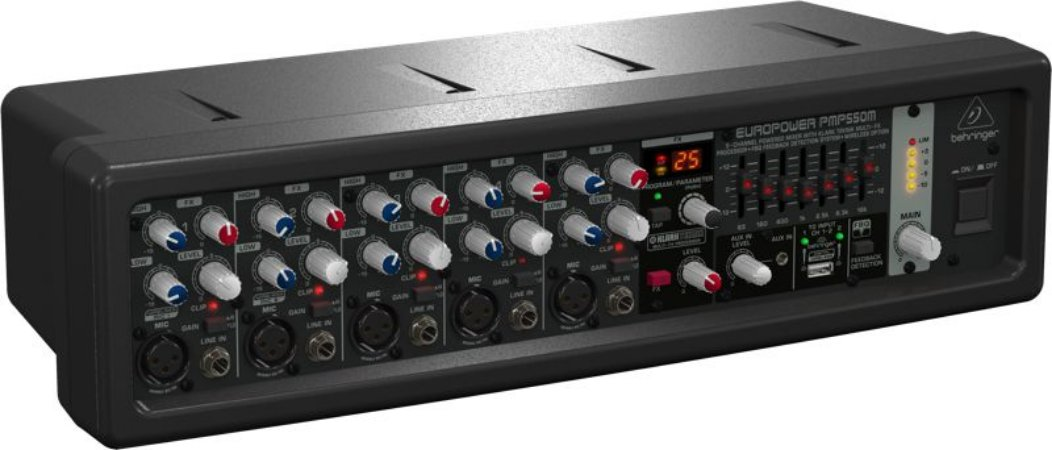 Mixer Amplificado 110V - PMP550M - Behringer