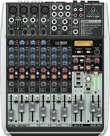 Mixer com 12 canais BiVolt - QX1204USB - Behringer