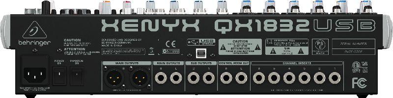 Mixer com 18 canais BiVolt - QX1832USB - Behringer