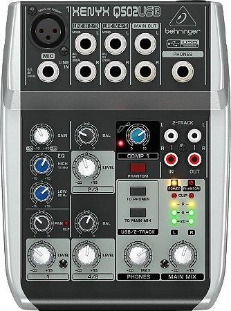 Mixer Xenyx 110V - Q502USB - Behringer