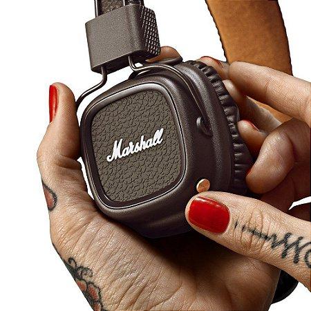 Fone de ouvido Marshall brown - MAJOR II BLUETOOTH -Marshall