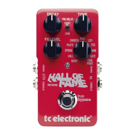 PEDAL HALL OF FAME REVERB - TC ELECTRONIC