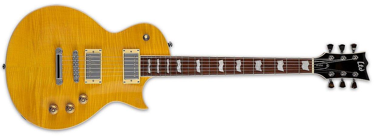 GUITARRA ESP LTD EC-256 FLAMED MAPLE TOP LEMON DROP