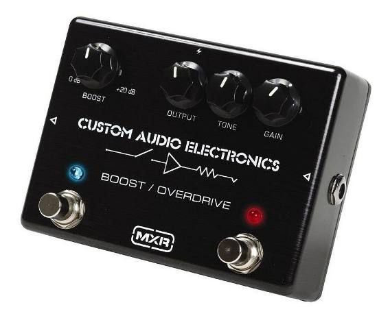 Pedal Mxr Custom Audio Electronics Boost/overdrive Mc402