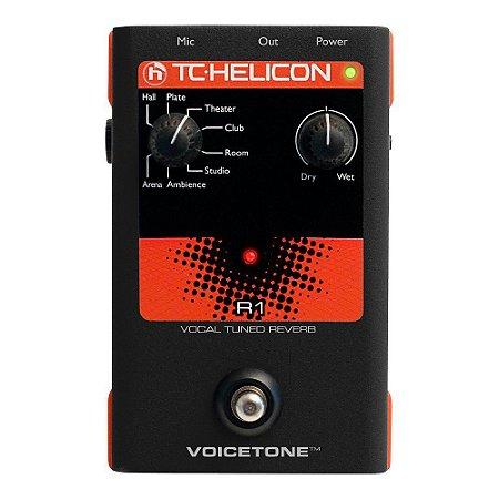 Processador de voz - Voicetone R1 - TC HELICON