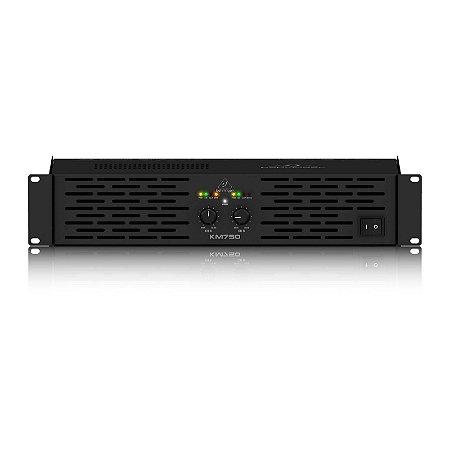 Amplificador de PA 750W KM750 - Behringer