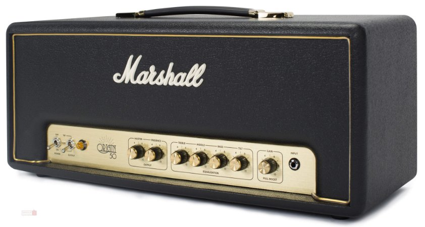 Cabecote para Guitarra 50W - ORIGIN 50H - Marshall