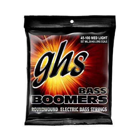 ML3045 - ENC BAIXO 4C BASS BOOMERS 040/100 - GHS