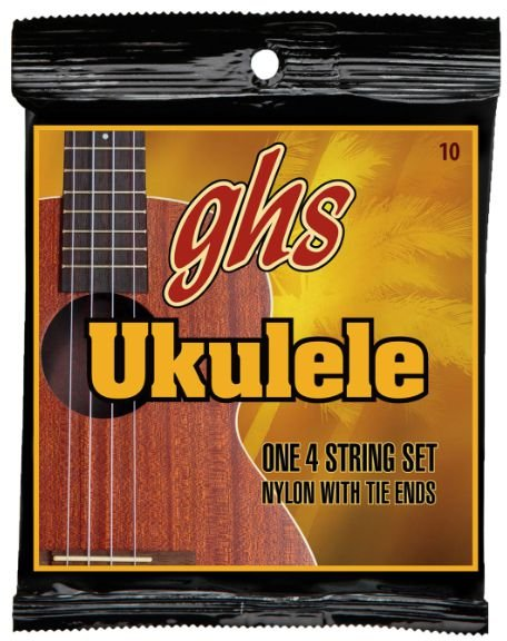 ENCORDOAMENTO NYLON UKULELE WITH TIE ENDS - GHS