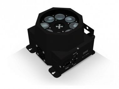 DISCO LED - LED 5W RGBW 8 CANAIS DMX - BI-VOLT - PLS