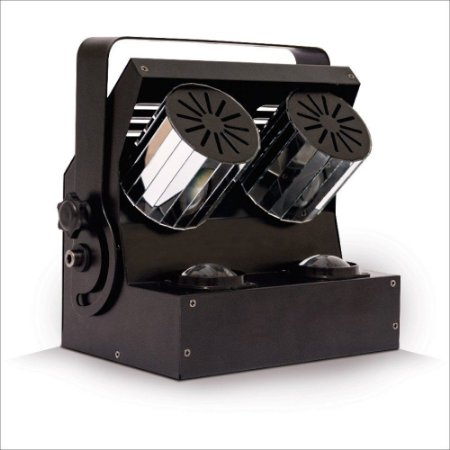 POWER SPIN - LED 4X1 8 CANAIS DMX - BI-VOLT - PLS