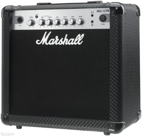 Combo para guitarra 15W - MG15CFR-B - MARSHALL