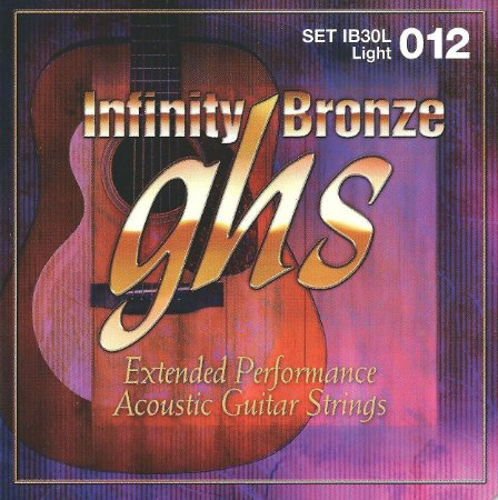 IB30L - ENC VIOLAO ACO INFINITY BRONZE 012/054 - GHS