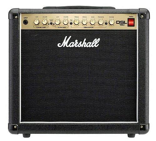 Combo para guitarra 15W - DSL15C-B - MARSHALL