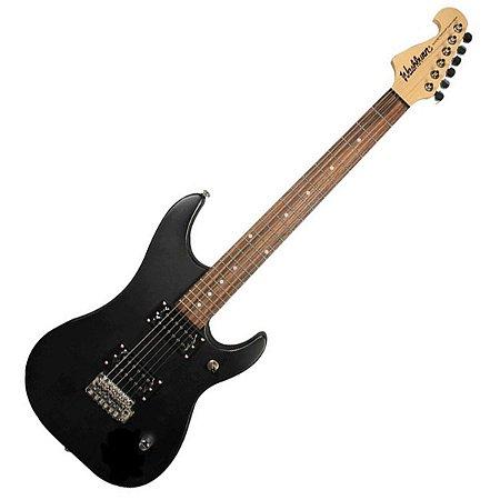 Pack guitarra N1 preta 220V - N1B PAK - WASHBURN