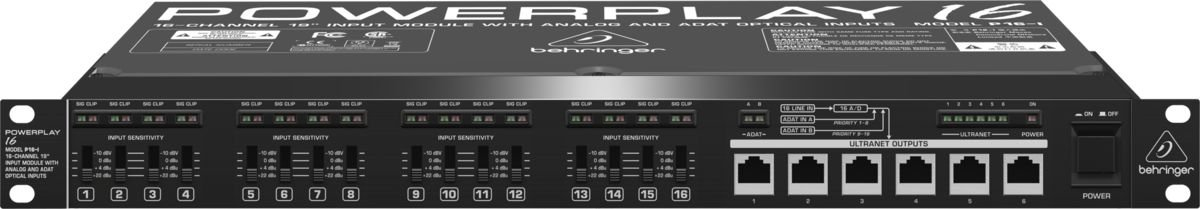 PowerPlay BiVolt - P16-I - Behringer